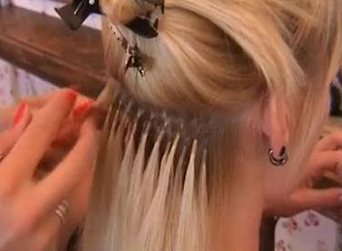 итальянская технология наращивания волос